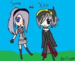 Sumire And Xiro by livy1023