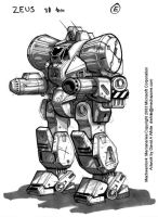 MechWarrior 4 Zeus by Mecha-Zone