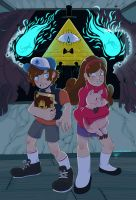 Gravity Falls :: Right Behind Yooou by Magntaa