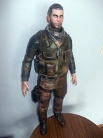 Sam Fisher Papercraft by Sabi996