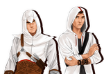 Altair and Desmond by pamellka
