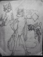 New character sketches by Amphibnia