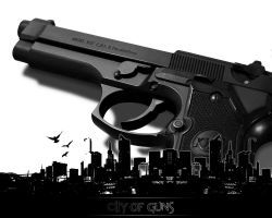 -City of Guns- by SerialGFX