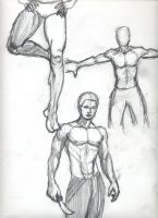 Homme Sketches 6 by skeetch11