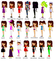 Layla's Outfits by Wikcia666