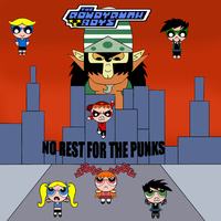 RRnkB: No rest for the punks - comic cover by szemi