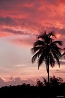Sunset in Guanica PR by lixa111
