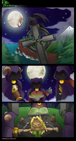 Scraped comic page by GoblinHordeStudios