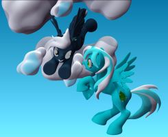 Cloud burst suprise by Harikon