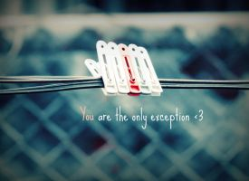 The Only Exception by Juandii