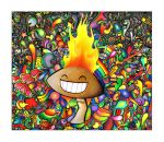 The Shroom is on Fire by Simanion