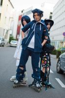 Air Gear: Lind, Agito, Akito by dreamcatcher-hina