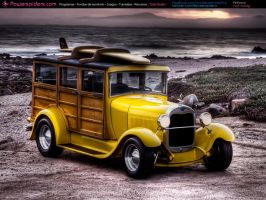 Ford Woody by powerspiders