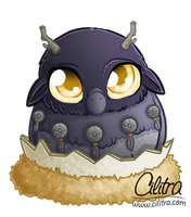 Baby Moonkin by Cilitra