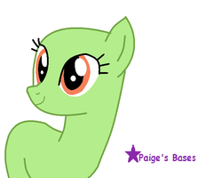 Ma First Traced Pony Base :DO NOT USE: by Paige-the-unicorn