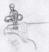 Sketch 11-05-2010 Spidey by JeremiahLambertArt