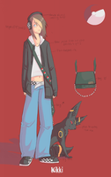 pokemon trainer reference :D by spoozer