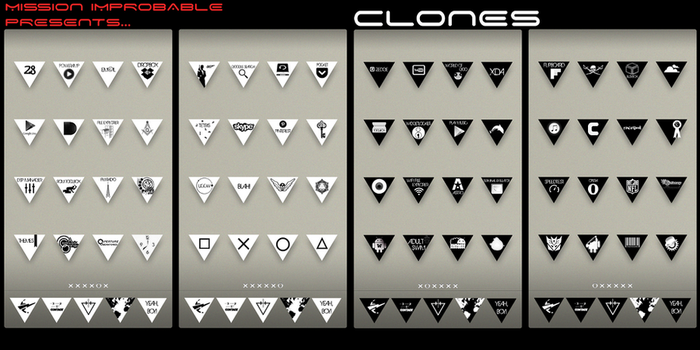 Clones by Wasteandwanting