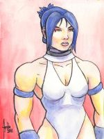 Sketchcard SFEX Blaire Dame by fedde