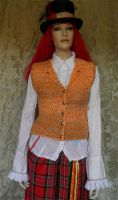 Mad Hatter vest PCC801 by JanuaryGuest