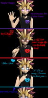 MMD Yu-Gi-Oh-Cyber Yamis Emotions by YugixYamiLove4ever