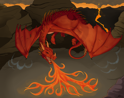 Red Dragon by HightreeDesigns
