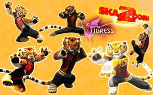 Kung Fu Panda 2:Master Tigress by Surfersgirl