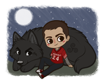 Teen Wolf - Full Moon by Kumilch