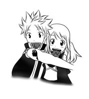 NaLu: Hearts by xmizuwaterx