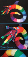 Rainbow Sandworm by tavington