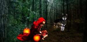 Red Riding Hood by echosea
