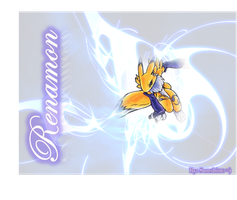 Renamon by KiraLacus16