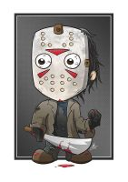 Jason Voorhees by cute-death