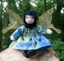 Tiny Butterfly Pixie by fairiesnest
