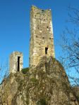 Medieval towers - Peyrusse-le-Roc 09 by HermitCrabStock