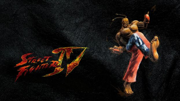 Street Fighter IV Dee-Jay wide by ManeFunction