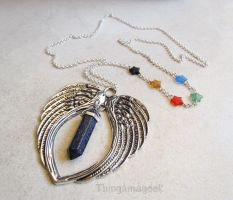 Guardians of the Galaxy - A GOTG Inspired Necklace by thingamajik