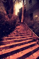 Stairs in The City / Free Stock Picture by ugurbektas