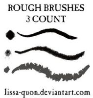 Rough Brushes by lissa-quon