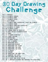 30 Day Challenge by red-lawliet95