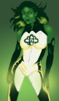 Jade Green Lantern Corps. by Ederoi