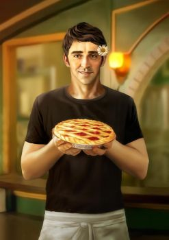 Ned. Pushing Daisies by selfOblivion