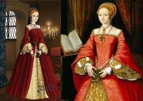 Queen Elizabeth I by jjulie98