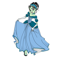 Frankiella's Ball Gown by JadeJeebie
