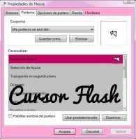 Cursor Flash by RainbowPS