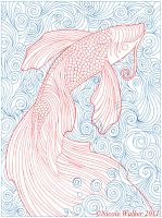 Swirly Fish by Nicole-Marie-Walker