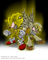 The Fleetway team by Niban-Destikim