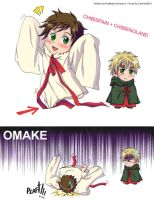 Hetalia Chibi Spain y Chibi UK by CarmenMCS