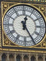 Big Ben face by UndertakerisEpic