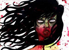 Bloody mess by weirdklown